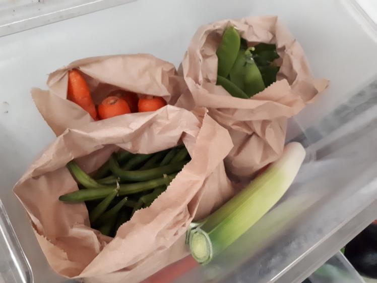 Fridge tour 5- produce bin